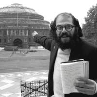 Allen Ginsberg Points At The Royal Albert Hall