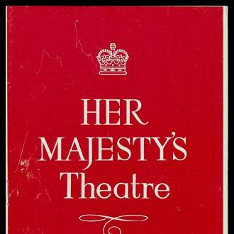 Her Majesty's Theatre, Carlisle, March 1962