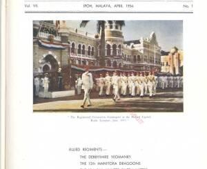 12th Lancers, 1954