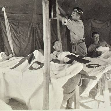 SHMB Field Ambulance Foreign Service, 1915-19