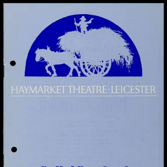 Haymarket Theatre, Leicester, September 1974
