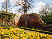The Canons, Mitcham: Walled garden