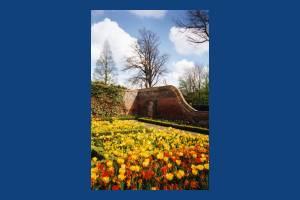 The Canons, Mitcham: Walled garden