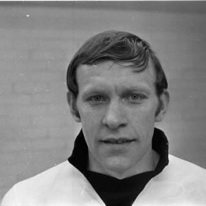 Portrait of Hereford United's Ronnie Radford, 1972.