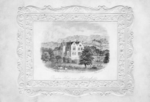 05 Etching of Bagden Hall
