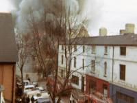 Fire at St. Mark's Church Wimbledon, 1966