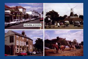 Postcard views of Wimbledon Village, Wimbledon