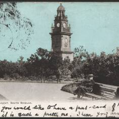 Postcards: Wouldhave Memorial and the Tyne Lifeboat