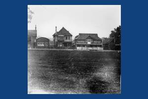 Mitcham Cricket Pavilion, Lower Green