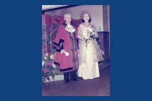 Mayor (William Lancaster) and Mayoress  of Mitcham