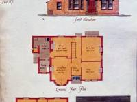 Mostyn Road: Avenue Lodge elevation plan
