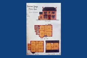 Mostyn Road: Avenue Lodge elevation plan