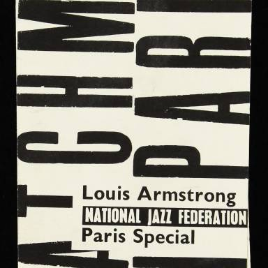 Louis Armstrong Brochure