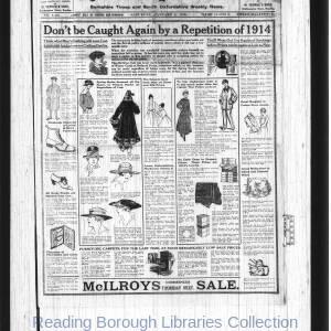 Reading Standard Etc 1919