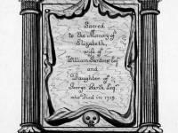 Church Memorial Plaque