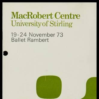 Macrobert Arts Centre, University of Stirling, November 1973 - P01