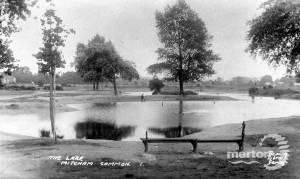 Mitcham Common Lake