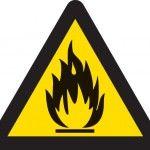 Brandfarligt