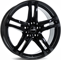 Alufælge Rial Bavaro Black 6.5Jx16 5x114.3 ET50 Ø70