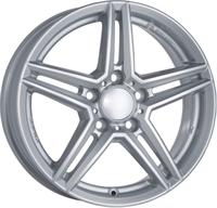 Alufælge Rial M10 Polar Silver 8Jx18 5x112 ET48 Ø66.6