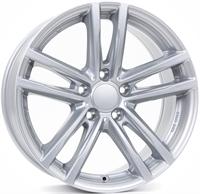 Alufælge Rial X10 Polar Silver 8Jx17 5x120 ET30 Ø72.6