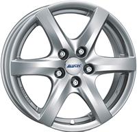 Alufælge Alutec Blizzard Polar Silver 6Jx15 4x108 ET45 Ø63.3