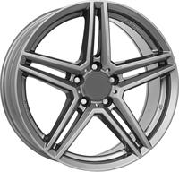 Alufælge Rial M10 Metal Grey 7Jx16 5x108 ET50 Ø63.3