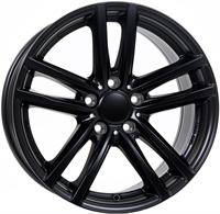 Alufælge Rial X10 Matt Black 7Jx17 5x112 ET54 Ø65.5