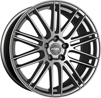 Alufælge Rial Kibo Metal Grey 8Jx19 5x114.3 ET40 Ø70