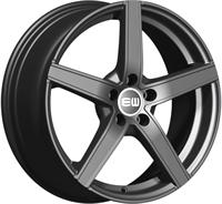 Alufælge Elite wheels Wheels Jazzy Palladium 7.5Jx17 5x120 ET37 Ø72.6
