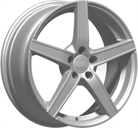 Alufælge Elite wheels Wheels Jazzy Crystal Silver 6.5Jx15 5x108 ET42 Ø67.1
