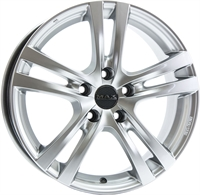 Alufælge Mak Zenith Hyper Silver 5Jx15 4x100 ET32 Ø60.1