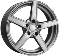Alufælge Elite wheels Wheels Jazzy Crystal Silver 7Jx17 5x108 ET42 Ø67.1