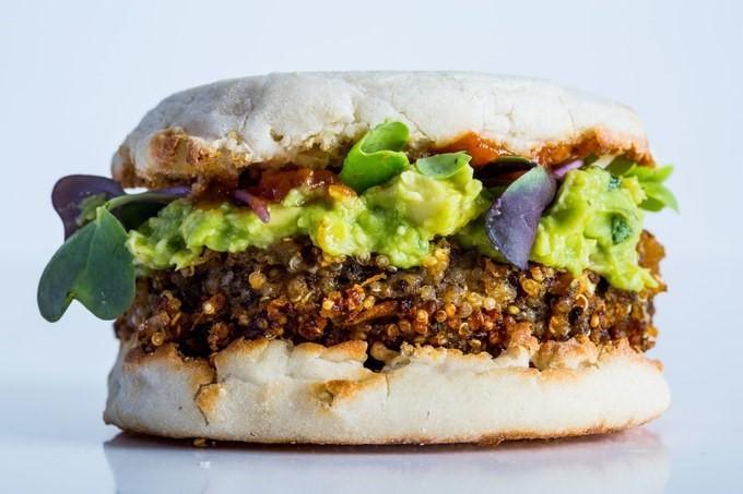 kinoa burger