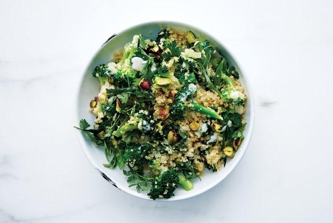 Brokoli-Kinoa Salatası