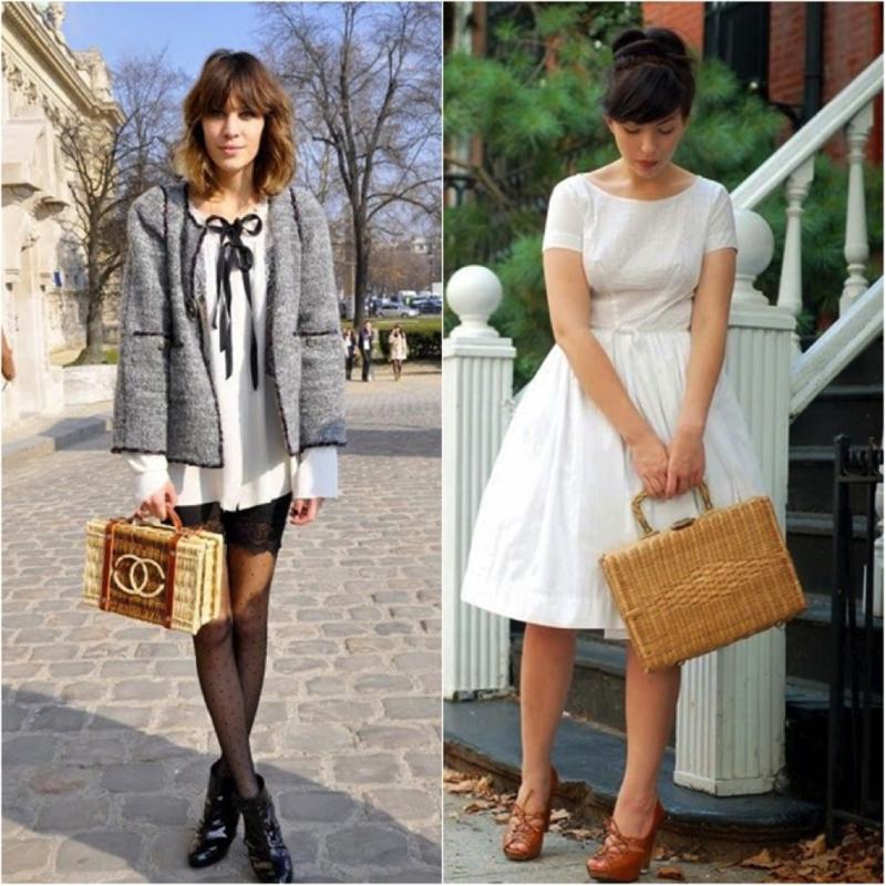 Hasır Trend Çanta Chanel