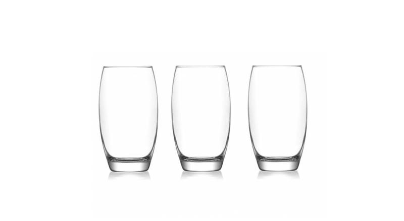 LAV Şarmaşık Desenli Meşrubat Bardağı 3'lü