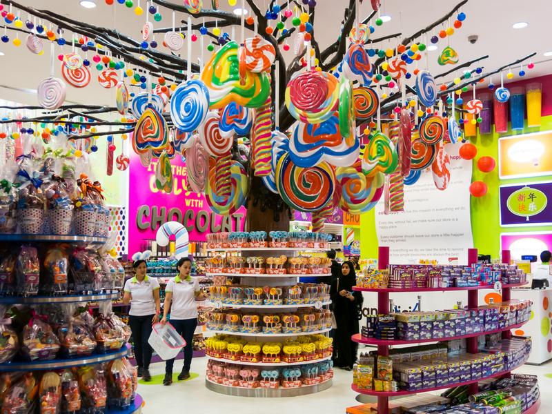 en büyük şeker mağazası