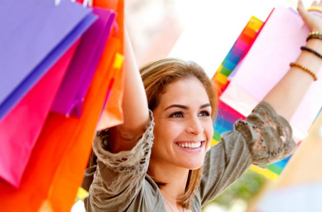 alışveriş mutluluğu