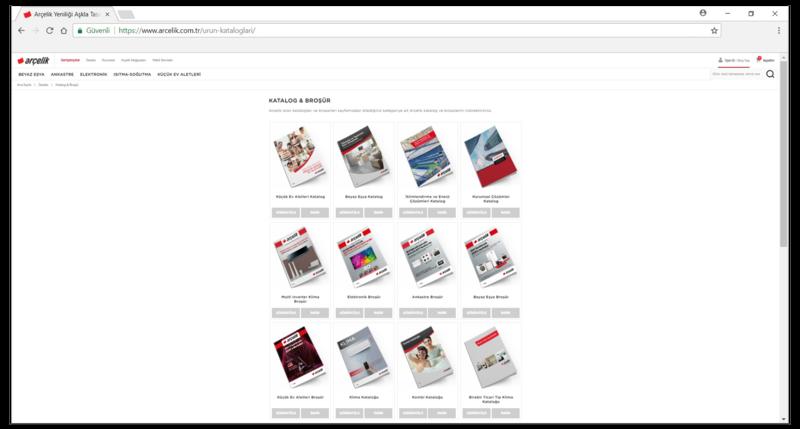 Kataloglarınızı ön plana çıkarmak için, ayrı bir açılış sayfası(landing page) hazırlamanızı öneriyoruz. Açılış sayfasının birçok yararından bazılarını sıralamamız gerekirse…  -Müşterileriniz, kullandıkları tarayıcıları üzerinden kataloglarınızın bulunduğu sayfayı favorilerine ekleyerek kataloglarınıza kolayca ulaşabilirler  -Kataloğunuzun bulunduğu açılış sayfasına diğer web sitelerinden bağlantı verebilirsiniz.  -Kataloğunuzun bulunduğu açılış sayfası müşterilerinizin alışveriş deneyiminin bir parçası olmakla birlikte detaylı analitik verilere de sahip olabilirsiniz.  -Kataloğunuzun bulunduğu açılış sayfasına haftalık bülten kayıt formu veya indirim teklifi gibi çeşitli fırsatlar ekleyebilirsiniz.  -Müşterileriniz, eski promosyonlarınızdaki linkleri tıkladığı zaman (e-posta paylaşımlarınızdan olduğunu varsayalım) açılış sayfasına bağlantı vermeniz durumunda en güncel kataloglarınıza ulaşabilirler  -Müşterilerinizin kataloglarınız için açılış sayfasına yönlenmesi SEO kalitesini arttırarak arama motorlarına yardım edecektir.