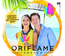Oriflame Ağustos Kataloğukatalog, kampanya