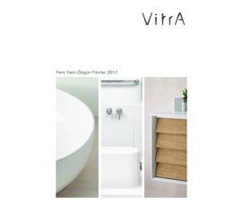 VitrA - Yeni Yalın Özgün Fikirler 2017katalog, kampanya