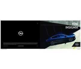 Opel - Yeni Insignia Ailesikatalog, kampanya