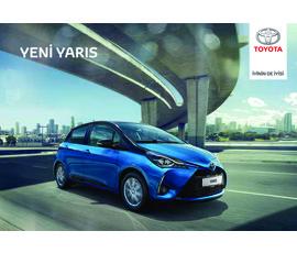 Toyota - Yariskatalog, kampanya