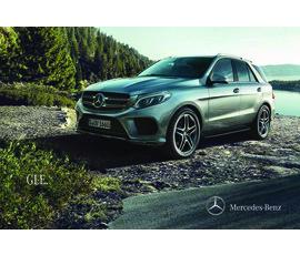 Mercedes - Benz GLE SUV Serisi Katalogkatalog, kampanya
