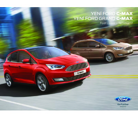 Ford C-Max Fiyat Listesikatalog, kampanya