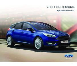Ford Focus Fiyat Listesikatalog, kampanya