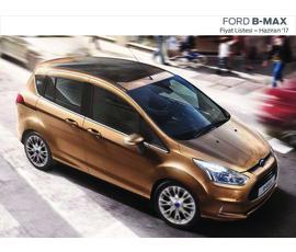 Ford B-Max Fiyat Listesikatalog, kampanya