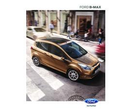 Ford B-Max Kataloğukatalog, kampanya