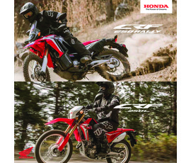 Honda CRF Kataloğukatalog, kampanya